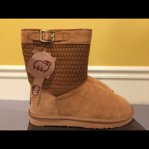 a147531d0cd5dd LAMO suede Chestnut Vesper Booties new
